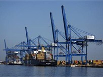 No Trucks Serving Baltimore Port Due to Strike