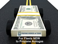 Propane Vehicle Rebate Offered in Texas