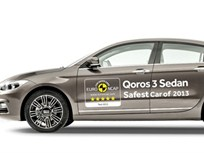 Qoros 3 First Chinese-Produced Sedan to Receive 5-Star Euro NCAP Rating