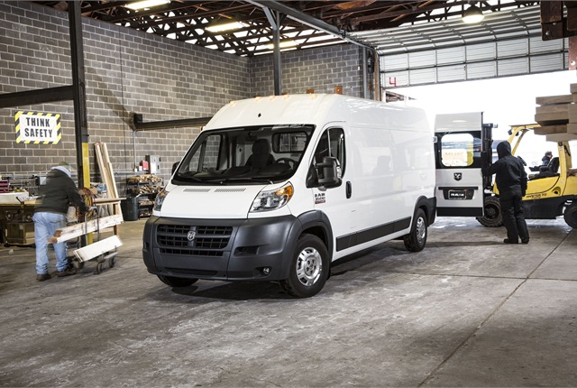 The 2014 Ram ProMaster. Photo courtesy Chrysler.
