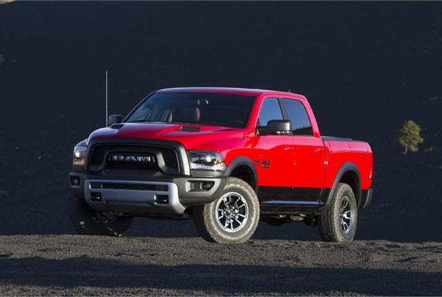 Photo of Ram 1500 courtesy of FCA US.
