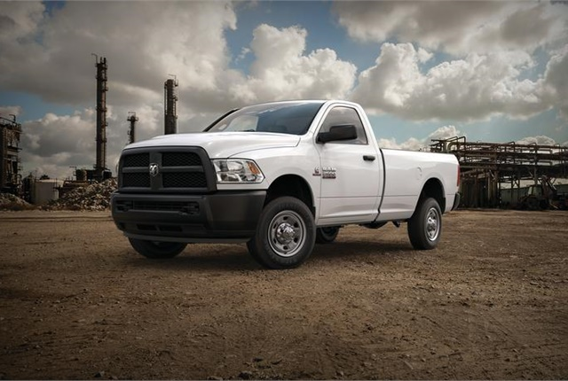 Photo of Ram 2500 courtesy of FCA US.