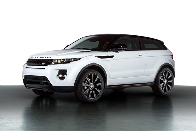 Photo of Range Rover Evoque courtesy of Land Rover.