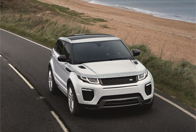 Photo of 2016 Range Rover Evoque courtesy of Land Rover.