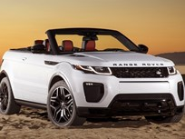 Range Rover Evoques Recalled for Tire Pressure Monitoring