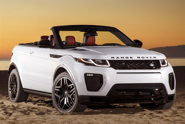 Photo of 2018 Range Rover Evoque courtesy of Jaguar Land Rover.