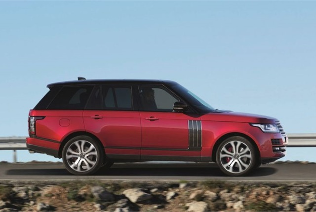 Photo of 2017 Range Rover SVAutobiography Dynamic courtesy of Jaguar Land Rover.