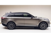 Range Rover Velar Debuts in London
