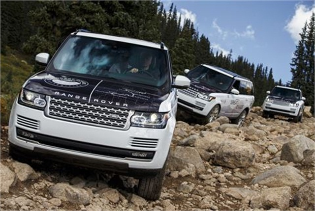 Photo of Range Rover courtesy of Land Rover.