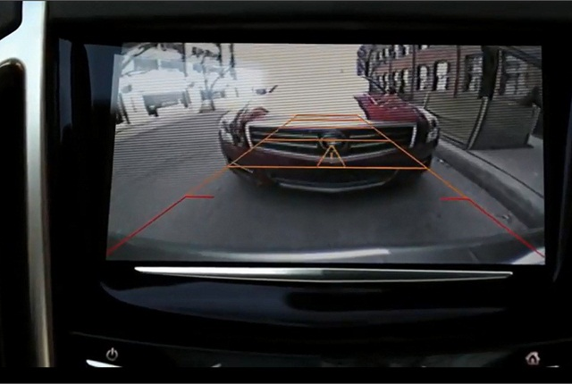 Rearview cameras are among safety technologies that benefit all drivers, including an aging population. Photo courtesy of General Motors.
