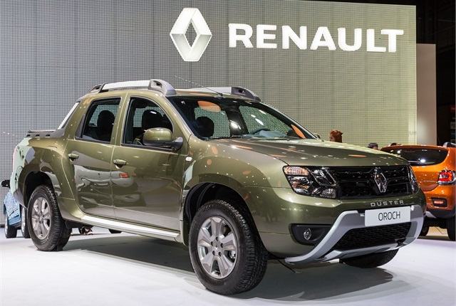renault introduces mid size pickup for latin america top news global fleet top news. Black Bedroom Furniture Sets. Home Design Ideas