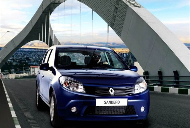 Photo of Renault Sandero courtesy of Renault.
