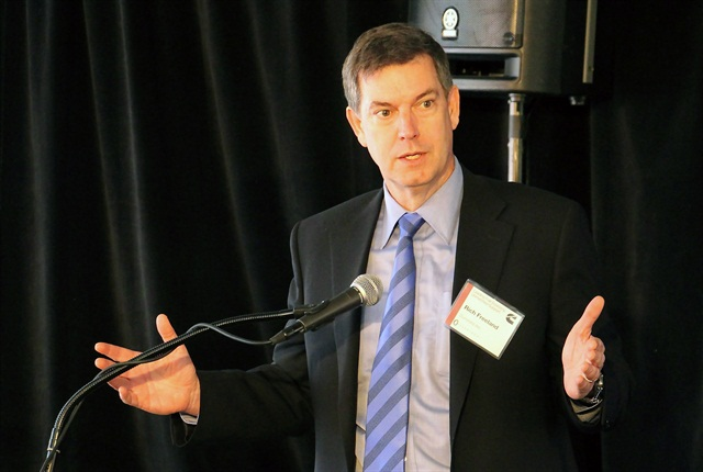 Rich Freeland, president of Cummins' engine business. Photo: Evan Lockridge