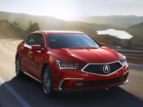 Acura Spruces Up RLX Sedan for 2018