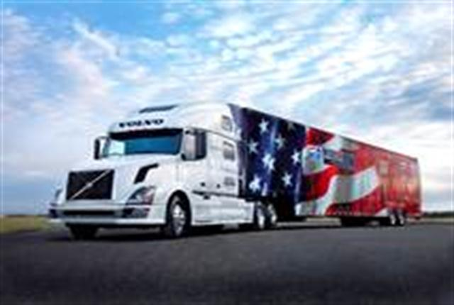 Volvo Trucks will continue its sole sponsorship of America's Road Team in 2014.  The Road Team travels the country with this Volvo VNL 780 and the American Trucking Associations' Image Trailer, delivering messages about highway safety and the essential nature of America's trucking industry.