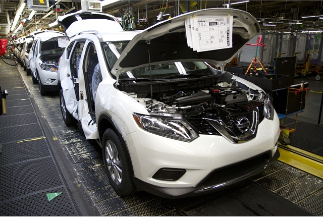 Nissan celebrated two major milestones today with the first U.S.-produced 2014 Nissan Rogue rolling off the line in Smyrna, Tenn. as the facility's 10 millionth vehicle.
