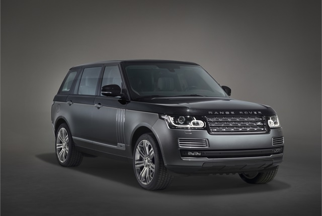 Photo of Land Rover Range Rover courtesy of Land Rover.