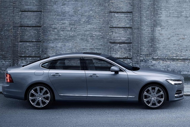 Photo of the S90 courtesy of Volvo.