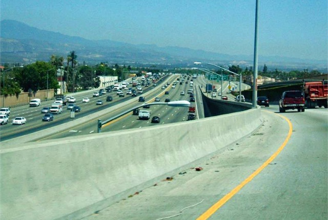 Photo of freeway in San Jose, Calif., by Daniel R. Blume via Flickr.