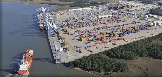 One of South Carolina's ports. Credit: S.C. Ports Authority