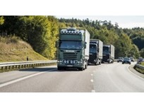 Scania Tests Autonomous Platooning in Singapore