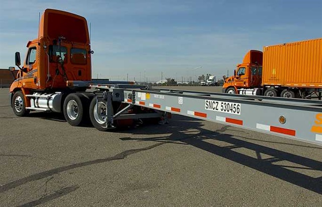 <p><strong>Over a four-year period, Schneider purchased 15,000 intermodal chassis.</strong> <em>Photo: Schneider</em></p>