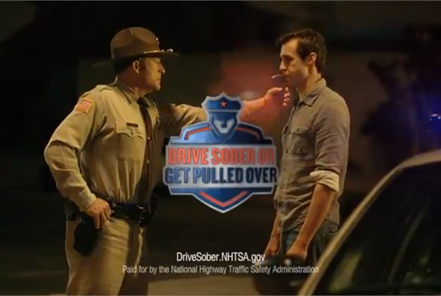 A scene from a NHTSA public service announcement.