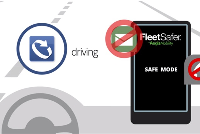 FleetSafer, available from Aegis, enforces company safe-driving policies while employees are behind the wheel.