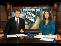 Video: Oklahoma House Weighs Driver Texting Ban