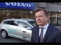 Video: Volvo Testing Self-Driving Cars On Swedish Streets