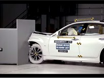 Infiniti Q70 Sedan Excels in Crashworthiness Tests