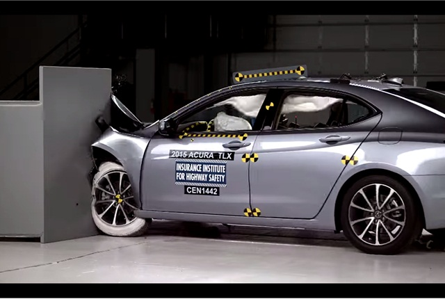 Video: Acura TLX Attracts Top IIHS Safety Rating - News - Automotive ...