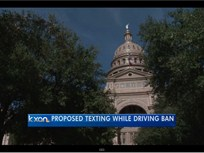 Video: Driver Texting Ban Proposed for Texas