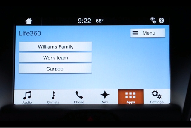 what mobile apps work with ford sync. Black Bedroom Furniture Sets. Home Design Ideas
