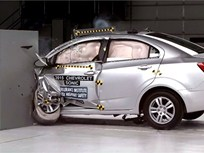 Video: Chevrolet Sonic Named Top Safety Pick