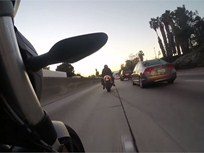 Video: Calif. Considers Motorcycle Lane-Splitting Bill