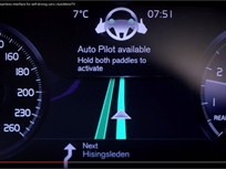 Video: Volvo Reveals Auto Pilot Interface