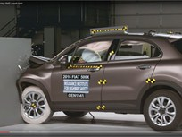 Video: Fiat 500X Captures Top Safety Award
