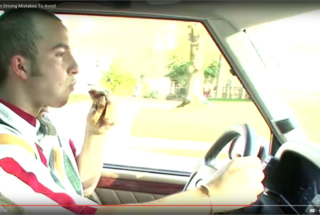 Luxury Vehicle: Video Tip: 5 Driving Mistakes To Avoid