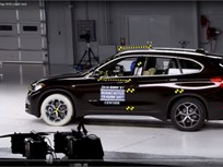 Video: BMW X1 Earns Top Safety Award