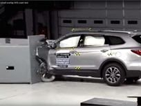 Video: Hyundai Santa Fe Earns Top Safety Honor
