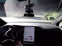 Video: Tesla Production Adds Self-Driving Hardware