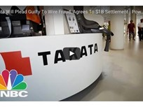 Video: Takata to Pay $1B in Criminal Penalties