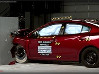 Subaru Impreza Earns Top Safety Honor