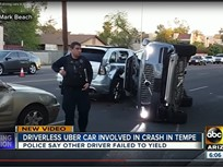 Uber Suspends Self-Driving Fleet After Ariz. Crash