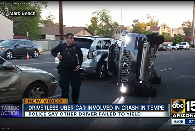 Leasing A Car Through Uber >> Uber Suspends Self-Driving Fleet After Ariz. Crash - Top News - Safety & Accident - Top News ...