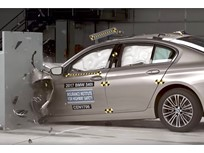 BMW 5 Series Named Top Safety Pick+