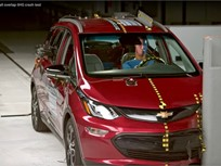 Chevrolet Bolt EV Named IIHS Top Safety Pick