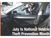 Safety Tip: Guarding Against Vehicle Theft