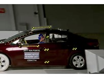 2017 Kia Forte Named IIHS Top Safety Pick+